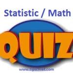Statistics Quiz