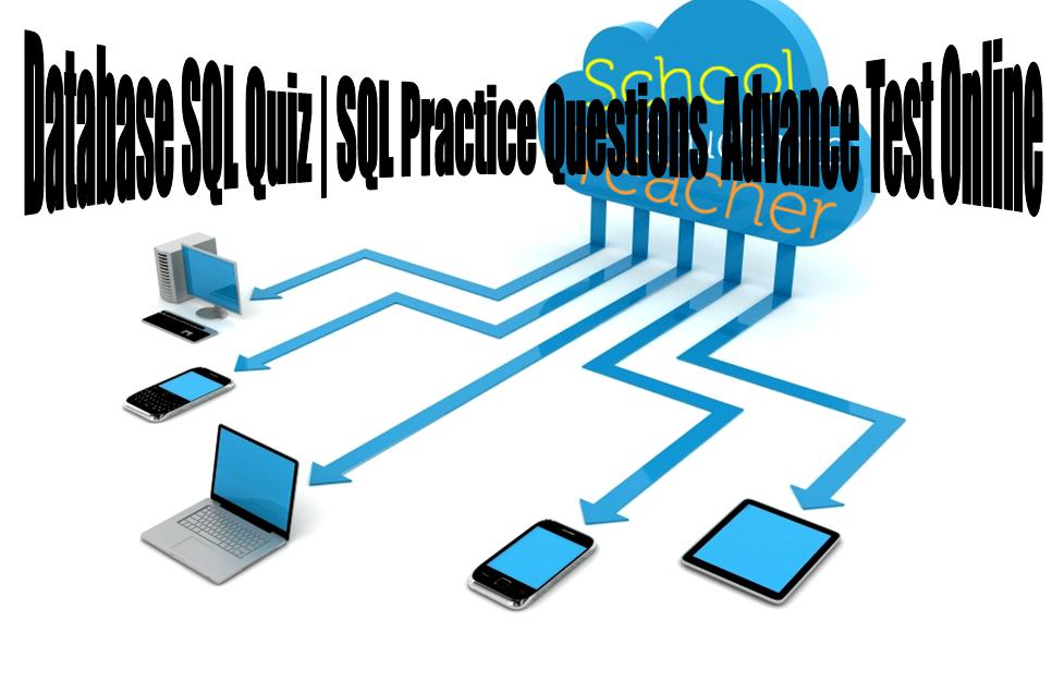 Database SQL Quiz | SQL Practice Questions Advance Test Online
