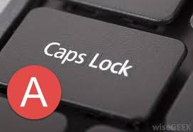 caps lock computer