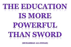 education quote jinnah