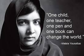education quote of malala