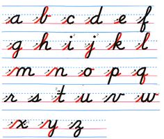 English alphabets handwriting sheets