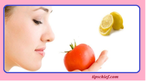 Tomato face Mask Lemon whitening mask
