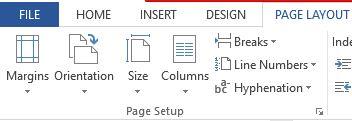 page-setup-word-2013