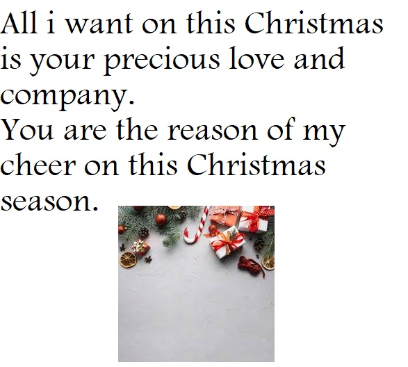 What to write on Christmas greeting cards