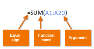 How to use sum function in MS excel How to use auto sum in MS Excel 2016