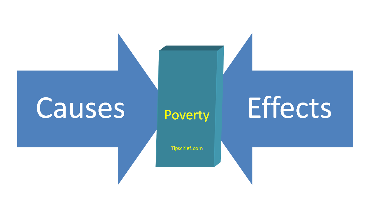 The causes effect and remedies for poverty